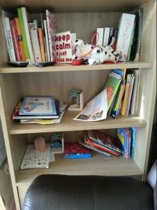 Book shelf tidy
