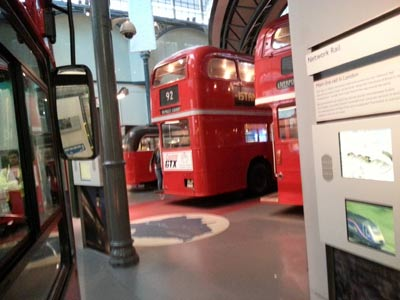 kids day out London transport museum