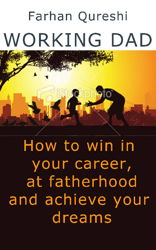 Book Cover Design Concept C: Working Dad mockup 1