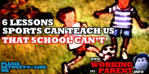 6 lessons that sports can teach us that school doesn't