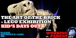 the art of the brick - lego exhibition
