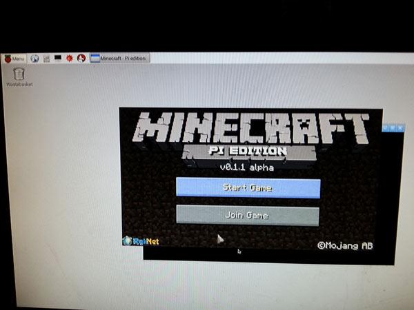 Raspbery Pi 2 comes preloaded with minecraft
