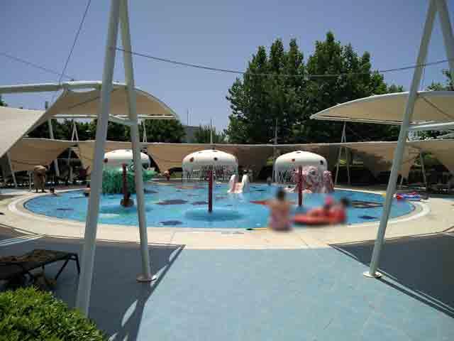 Hilton Dalaman kids pool