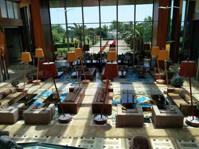 Hilton Dalaman lobby area